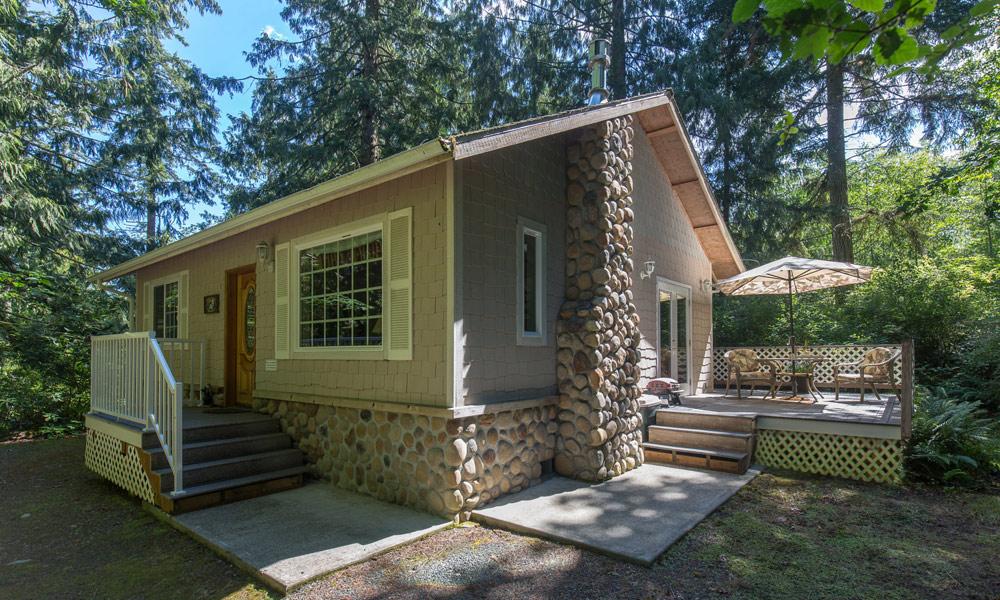whimsical bear cottage