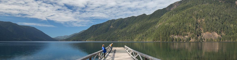 olympic national park lake