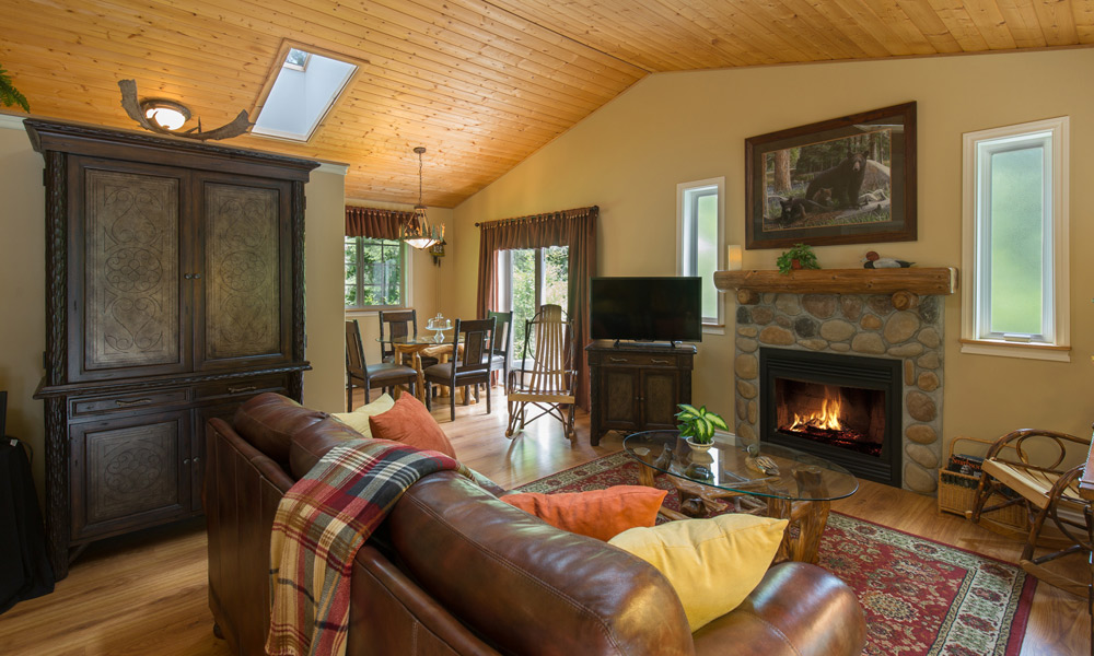 Woodland Retreat Cottage Living Room