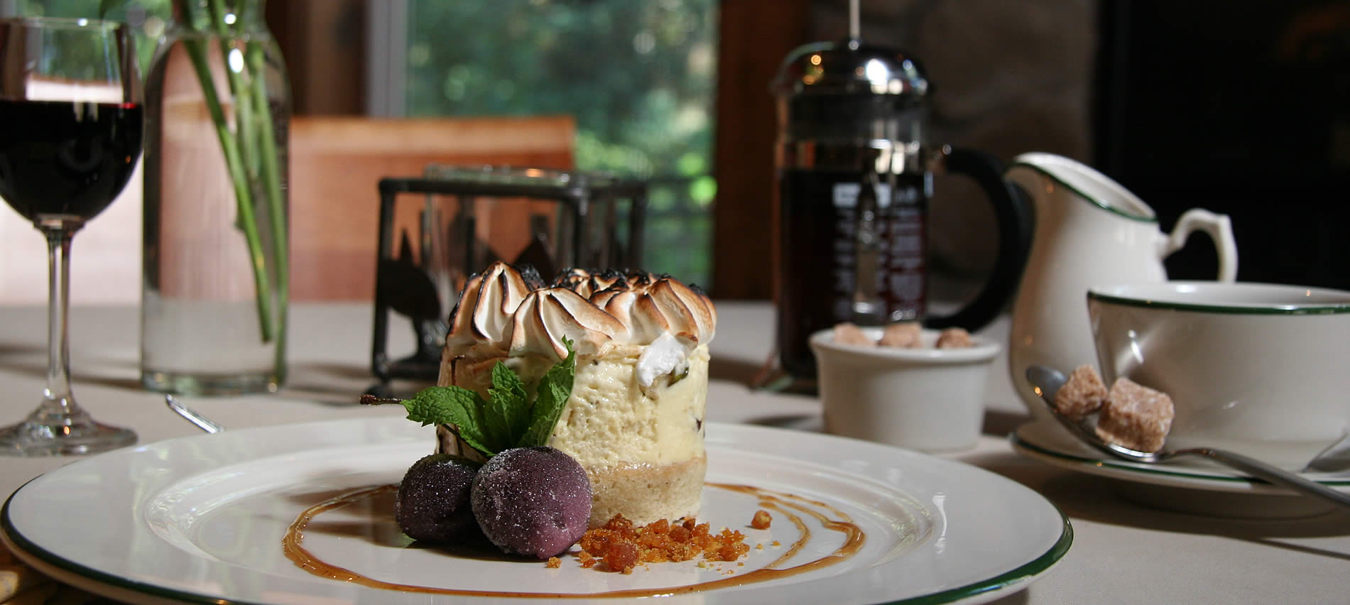 port angeles restaurants, wineries and dessert houses